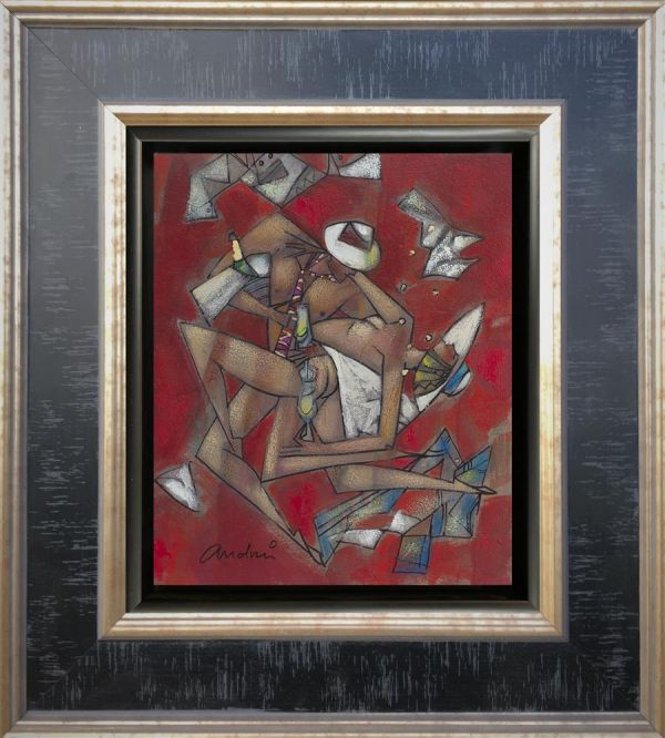 Andrei Protsouk - 'Naked Tango' - Original Artwork