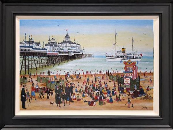 Allen Tortice - 'At the Seaside' - Original Artwork