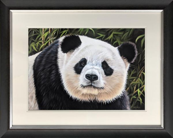 Samantha Greenhill - 'Bamboo Bear' - Original Art