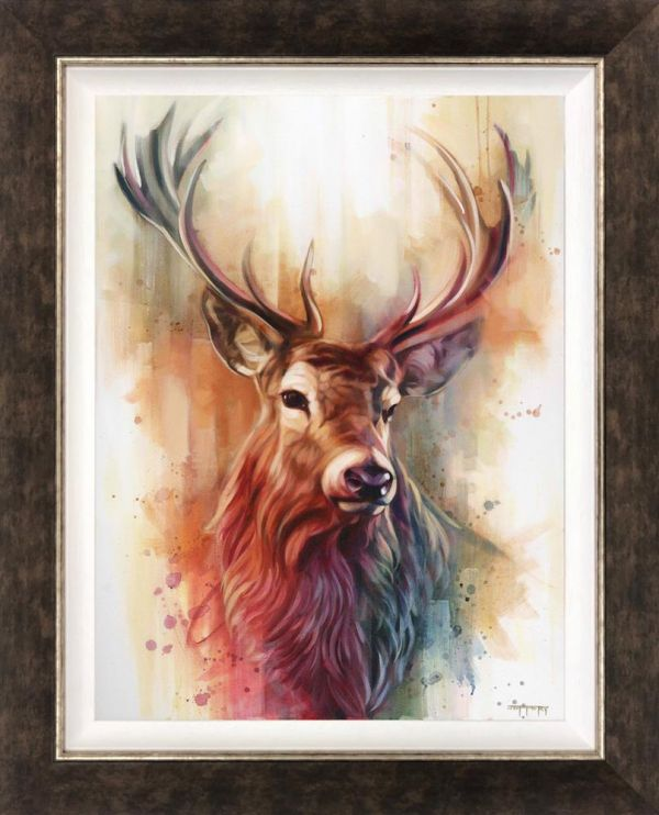 Ben Jeffery - 'Monarch of the Glen' - Frame Limited Edition Art (Canvas)