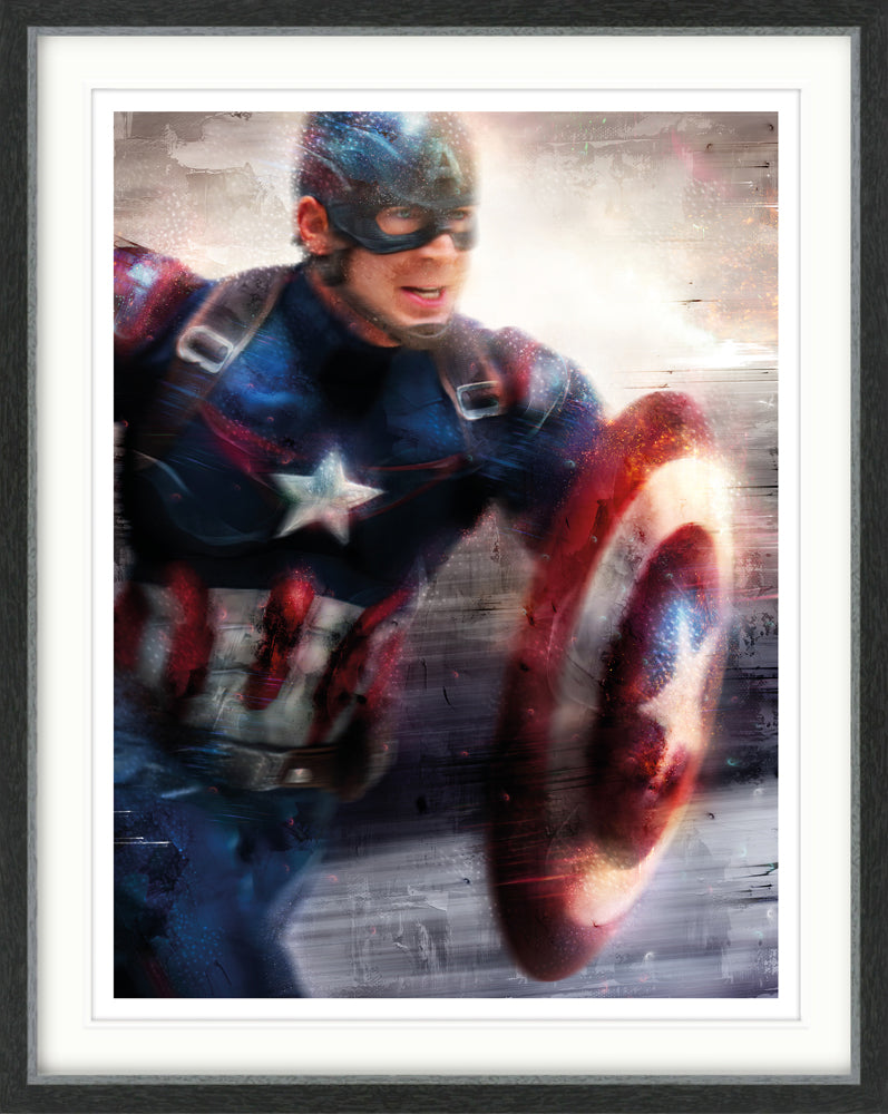 Mark Davies - 'I Can Do This All Day' (Captain America) - Limited Edition