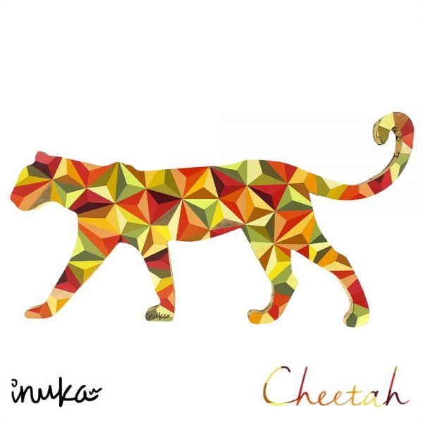 INUKA - Cheetah (Mini) -  Original Artwork