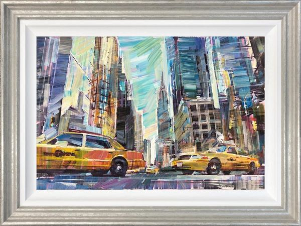 Colin Brown - 'Cabs At The Empire State' - Original Art