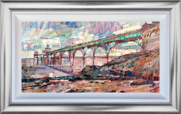 Colin Brown - 'Clevedon Pier' - Framed Original Art