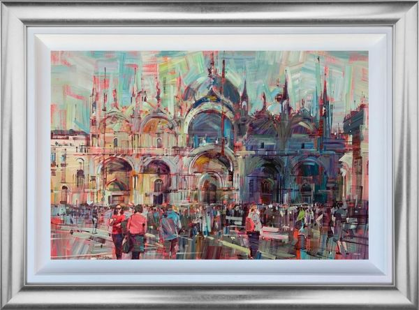 Colin Brown - 'The Venice Beat' - Framed Original Art