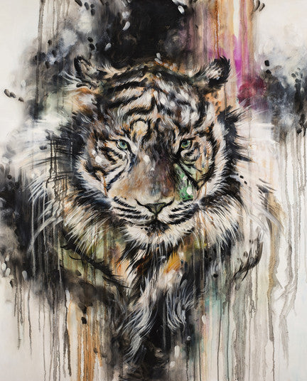 """ Composure "" by Katy Jade Dobson (Framed limited edition print)"