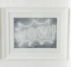 """WOW!"" by Courty (FRAMED limited edition print)"