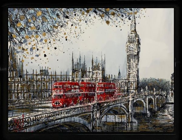 Nigel Cooke - 'Crossing Westminster' - Original Art