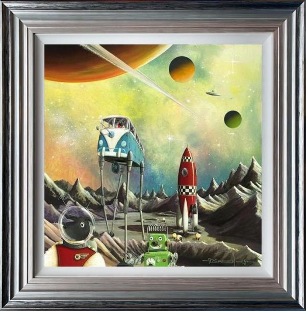 Dale Bowen - 'Base Camper (Ewe-niverse Series)' - Limited Edition Art