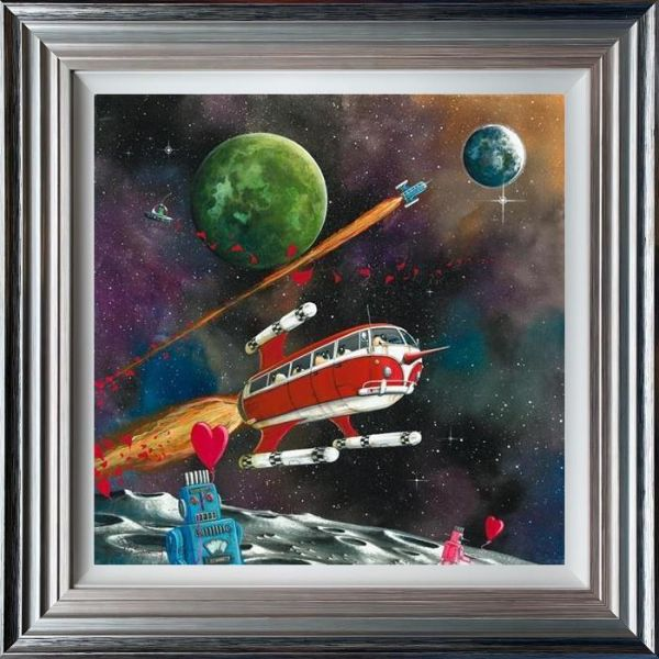 Dale Bowen - ' Star Sheep Enterprise (Ewe-niverse Series)' - Limited Edition Art