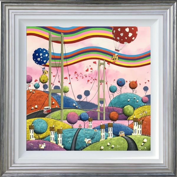Dale Bowen - 'Chasing Rainbows' - Original Art