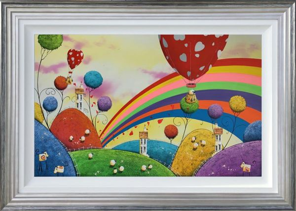 Dale Bowen - 'Finding Rainbows' - Original Art