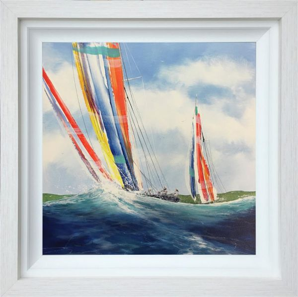 Dale Bowen - 'Full Wind' - Original Art