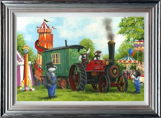 Dale Bowen - 'Mr Toad and Moley's Steam Adventures' - Limited Edition Art