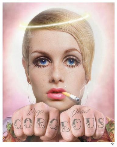 """Drop Dead Gorgeous"" (Colour Edition) by JJ Adams (limited edition print)"