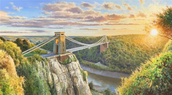 Duncan Palmar ARSMA - Clifton Suspension Bridge - Limited Edition
