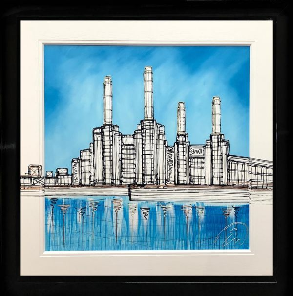 Edward Waite - 'Battersea Blues' - Original Art