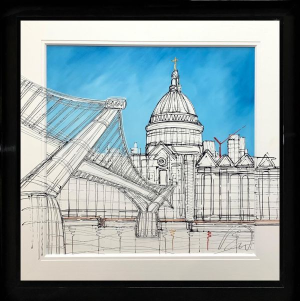 Edward Waite - 'Millennium Crossing' - Original Art