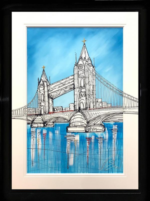 Edward Waite - 'Tower Blues' - Original Art
