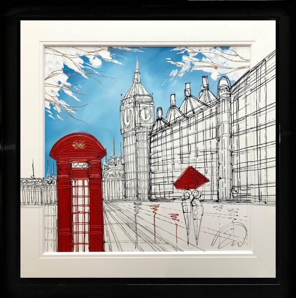 Edward Waite - 'Westminster Route' - Original Art