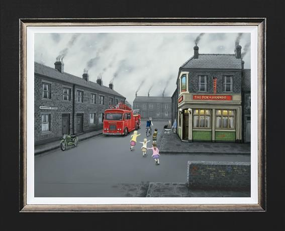 Leigh Lambert - 'False Alarm!' (Canvas) - Limited Edition Art