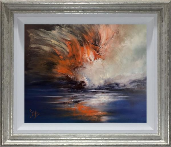 Caro Saintvire - 'Flash Of Fire' - Original Art