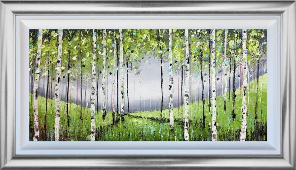 Nigel Cooke - 'Forest Gathering' - Original Art