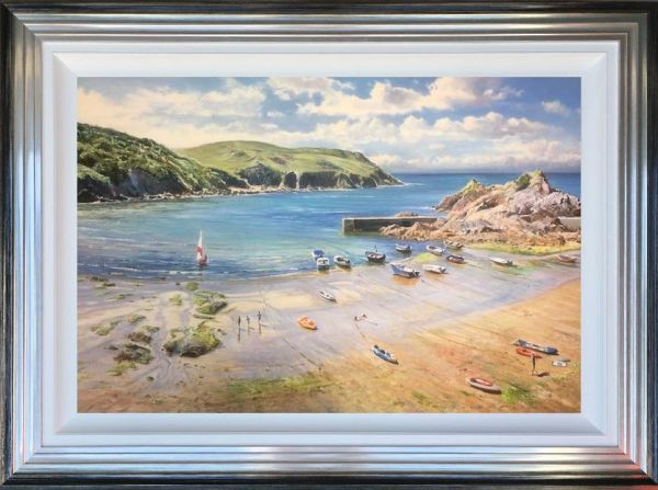 Duncan Palmar ARSMA - 'Hope Cove' - Original Art