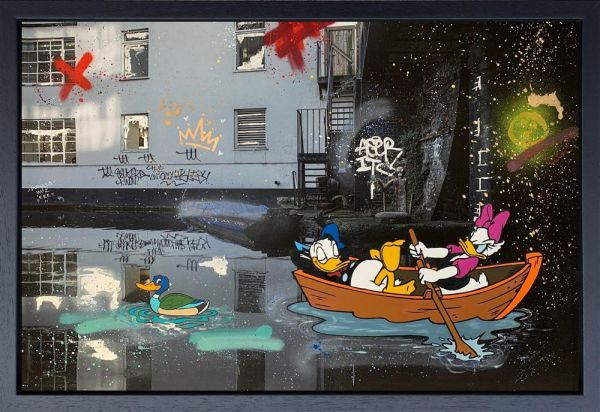 Inuka - 'Camden Ducks' - Original Art