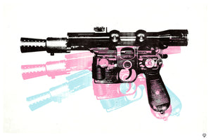 """A Good Blaster"" by JJ Adams (limited edition print) - New Look Art"