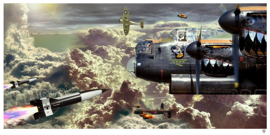 """Almost Home"" by JJ Adams (limited edition print) - New Look Art"