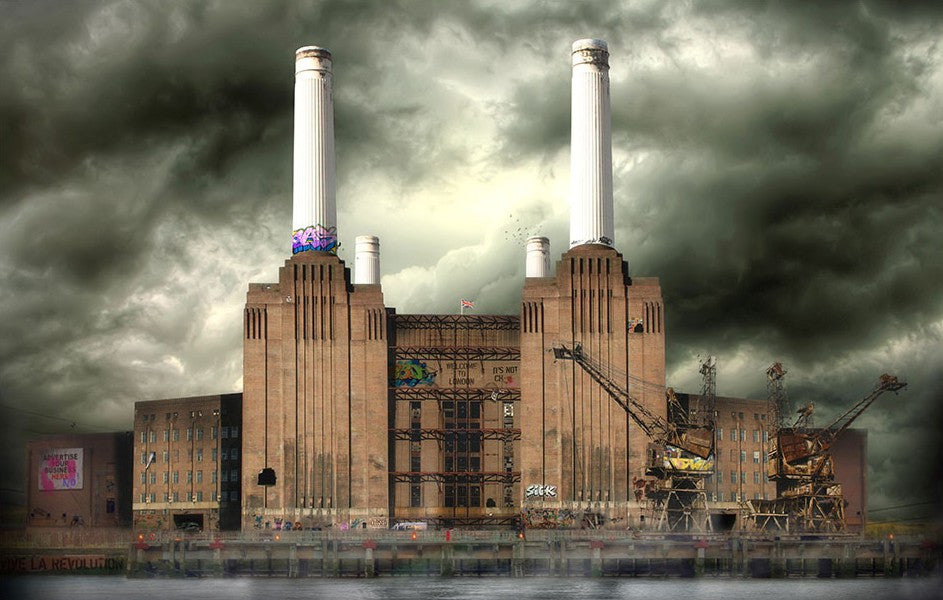 """Battersea Power"" by JJ Adams (limited edition print) - New Look Art"
