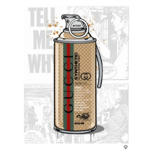 """Brand Grenade Gucci"" by JJ Adams (limited edition print)"