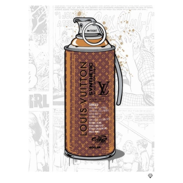 JJ Adams - 'Brand Grenade Louis Vitton' - Limited Edition Print