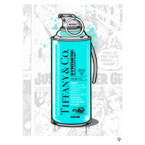 JJ Adams - 'Brand Grenade Tiffany & Co' - Llimited Edition Print