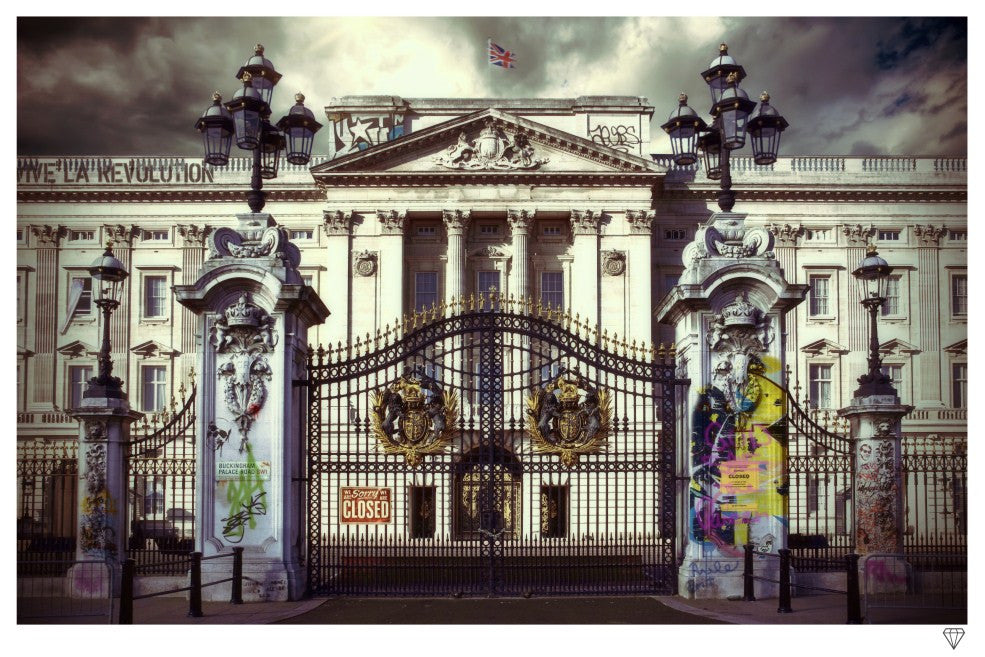 """Buckingham Palace"" by JJ Adams (limited edition print) - New Look Art"