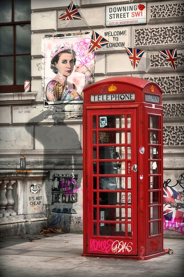 """London's Calling"" by JJ Adams (limited edition print) - New Look Art"