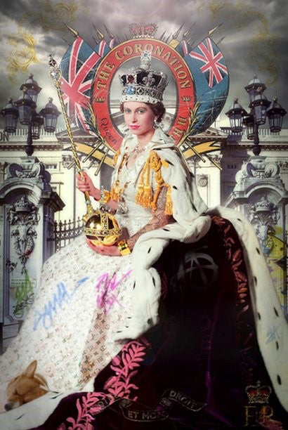 """Queen Coronation"" by JJ Adams (limited edition print)"