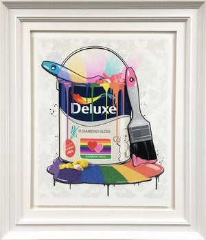 """Deluxe Paint Can - Care Bears"" by JJ Adams (limited edition print)"