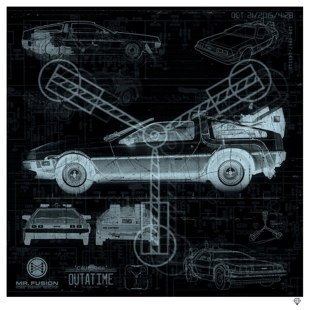 """Great Scott"" by JJ Adams (FRAMED limited edition print) - New Look Art"