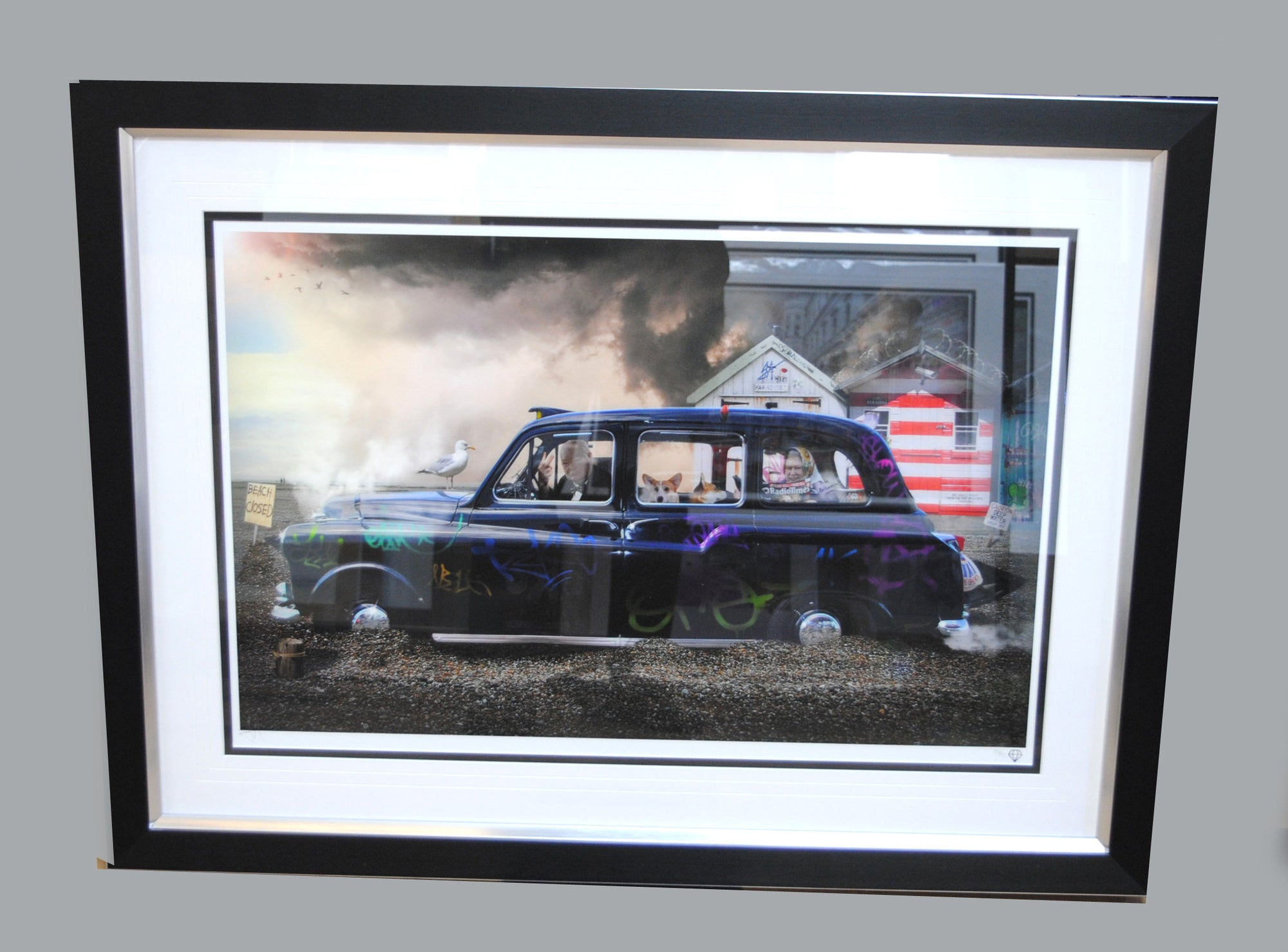 """Jolly Holiday"" by JJ Adams (FRAMED limited edition print) - New Look Art"
