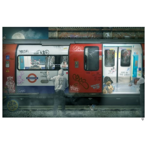 JJ Adams - 'London Tube' - Limited Edition Print