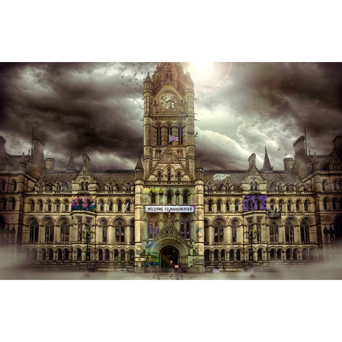 """Manchester Rules"" by JJ Adams (limited edition print) - New Look Art"