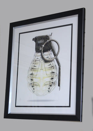 JJ Adams - 'Mind Grenade' - Limited Edition Print