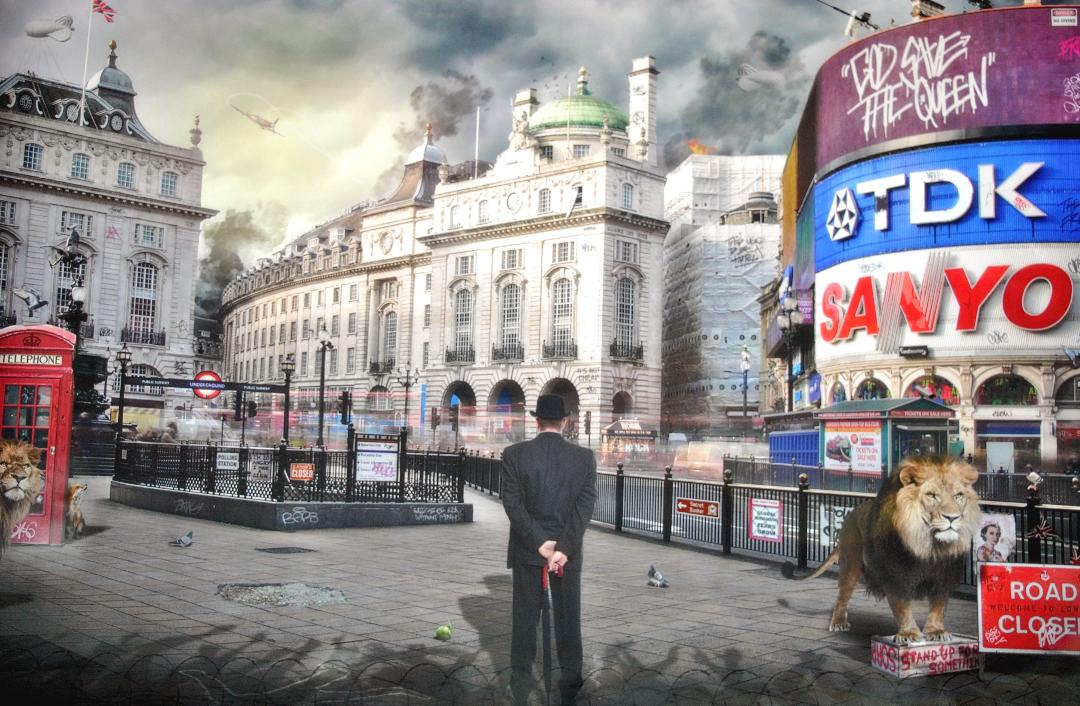 """Piccadilly"" by JJ Adams (limited edition print)"