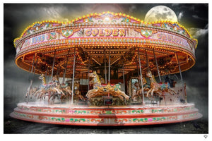 """Carousel"" by JJ Adams (FRAMED limited edition print) - New Look Art"