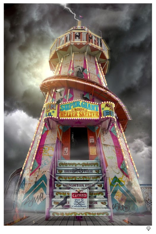 """Helter Skelter"" by JJ Adams (limited edition print) - New Look Art"