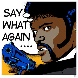 """Say What Again"" by JJ Adams (limited edition print) - New Look Art"
