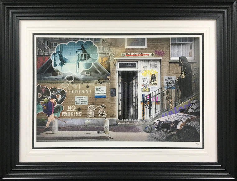 """School Walker"" Star Wars (Rule Britannia Series) by JJ Adams (limited edition print)"