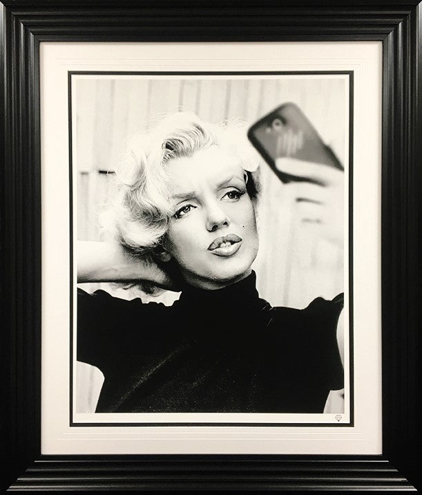 JJ Adams - 'Monroe Selfie' - Limited Edition Print